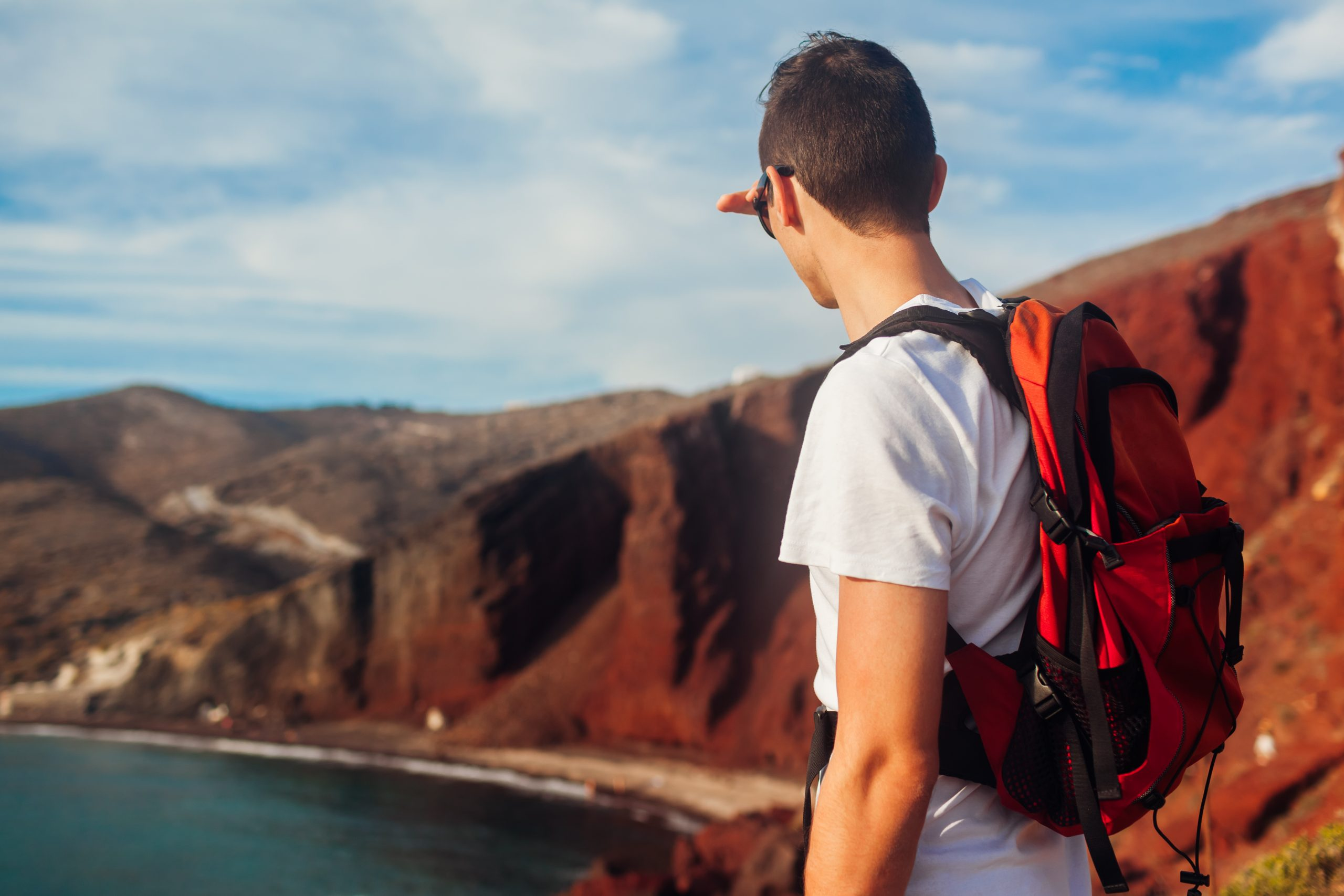the best santorini hiking paths