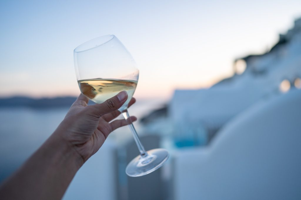 wine tour santorini